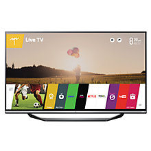 "Buy LG 60UF770V 4K Ultra-HD Smart TV, 60"" with Freeview HD and Built-In Wi-Fi Online at johnlewis.com"