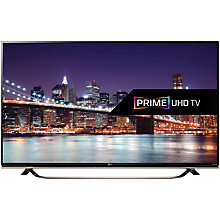 "Buy LG 65UF860V 4K Ultra-HD 3D Smart TV, 65"" with Freeview HD, Built-In Wi-Fi, Harman/kardon Audio & 2x 3D Glasses Online at johnlewis.com"