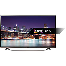 "Buy LG 55UF860V 4K Ultra-HD 3D Smart TV, 55"" with Freeview HD, Built-In Wi-Fi, Harman/kardon Audio & 2x 3D Glasses Online at johnlewis.com"
