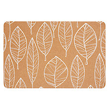 Buy John Lewis Scandi Leaf Cork Placemat Online at johnlewis.com