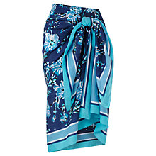 Buy Jigsaw Provence Print Sarong, Blue Online at johnlewis.com