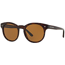 Buy Giorgio Armani AR8055 Panthos Framed Sunglasses, Tortoise Online at johnlewis.com