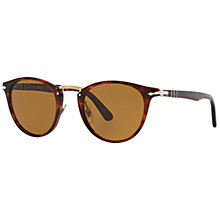 Buy Persol PO3108S Phantos Framed Polarised Sunglasses, Tortoise Online at johnlewis.com