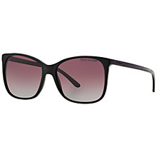 Buy Polo Ralph Lauren PH4094 Butterfly Framed Polarised Sunglasses, Black Online at johnlewis.com