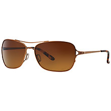 Buy Oakley OO4101 Conquest Polarised Sunglasses Online at johnlewis.com