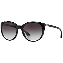 Buy Emporio Armani EA4043 Round Sunglasses Online at johnlewis.com