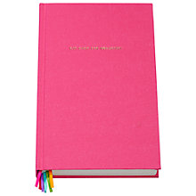 Buy kate spade new york Eat Cake for Breakfast Journal, Pink Online at johnlewis.com