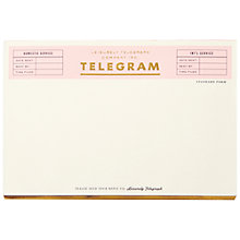 Buy kate spade new york Telegram Notepad Online at johnlewis.com