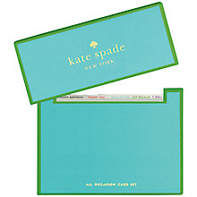 Buy kate spade new york All Occasion Card Set, Pack of 15 Online at johnlewis.com