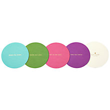 Buy kate spade new york Coaster Set, Pack of 24 Online at johnlewis.com