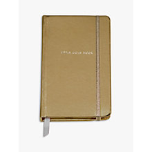 Buy kate spade new york Gold Notebook, Medium Online at johnlewis.com