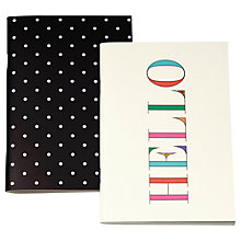 Buy kate spade new york Notebook Set, Pack of 2 Online at johnlewis.com