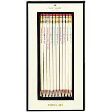 Buy kate spade new york 'What's the Word' Pencil Set Online at johnlewis.com