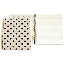 Buy kate spade new york Spiral Notebook Online at johnlewis.com