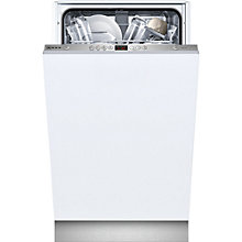Buy Neff S58T40X0GB Slimline Integrated Dishwasher Online at johnlewis.com