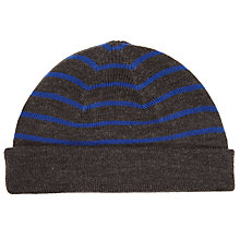Buy Kin by John Lewis Stripe Beanie, One Size Online at johnlewis.com