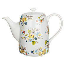 Buy Cath Kidston Woodland Rose Teapot Online at johnlewis.com