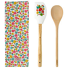 Buy Cath Kidston Little Leaves Utensil Gift Set Online at johnlewis.com