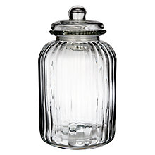 Buy John Lewis Extra Large Glass Jar Online at johnlewis.com