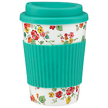 Buy Cath Kidston Woodland Rose Travel Cup Online at johnlewis.com