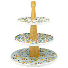 Buy Cath Kidston Wooden 3-Tier Cake Stand Online at johnlewis.com
