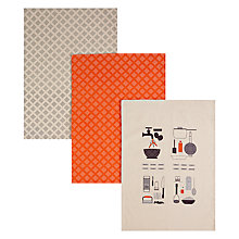 Buy John Lewis Spud You Like It Tea Towels, Set of 3 Online at johnlewis.com