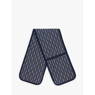 Image of John Lewis Butcher's Stripe Double Oven Glove