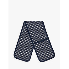 Buy John Lewis Butcher's Stripe Double Oven Glove Online at johnlewis.com