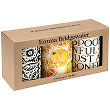 Buy Emma Bridgewater Display Caddies, Set of 3 Online at johnlewis.com