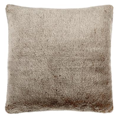 John Lewis Faux Fur Cushion, L59 x W59cm