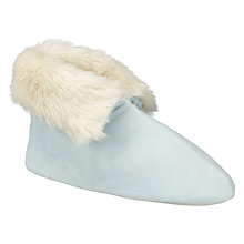 Buy John Lewis Faux Fur Foot Duvet Slippers Online at johnlewis.com