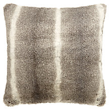 Buy John Lewis Faux Fur Cushion, L59 x W59cm Online at johnlewis.com