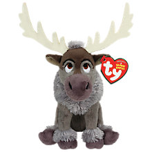 Buy Ty Disney Frozen Sven Beanie Soft Toy Online at johnlewis.com