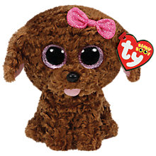 Buy Ty Beanie Boo Maddie Pup Soft Toy Online at johnlewis.com