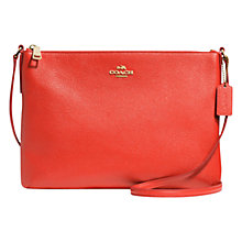 Buy Coach Pebbled Leather Across Body Bag Online at johnlewis.com