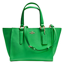 Buy Coach Crosby Mini Leather Carryall Tote Bag Online at johnlewis.com