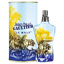 Buy Jean Paul Gaultier Le Male Summer 2015 Edition Eau de Toilette, 125ml Online at johnlewis.com