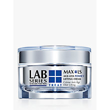 Buy Lab Series For Men Max LS Power V Lifting Cream, 50ml Online at johnlewis.com