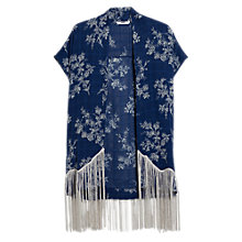 Buy Mango Fringes Printed Kaftan Online at johnlewis.com