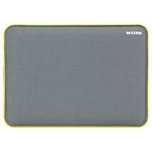 "Buy Incase Icon Sleeve for 13"" MacBook Pro with Retina display, Grey/Lumen Online at johnlewis.com"