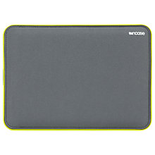 "Buy Incase Icon Sleeve for 15"" MacBook Pro with Retina display, Grey/Lumen Online at johnlewis.com"