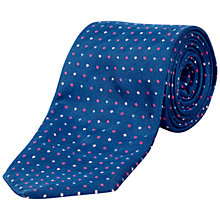 Buy Jaeger Dot Silk Tie Online at johnlewis.com