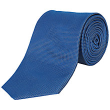 Buy Jaeger Micro Diamond Texture Silk Tie Online at johnlewis.com