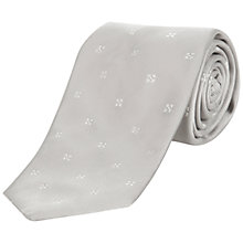 Buy Jaeger Diamond Silk Tie Online at johnlewis.com