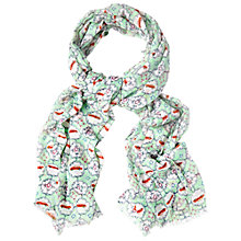 Buy White Stuff Tiled Cars Scarf, Multi Online at johnlewis.com