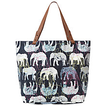 Buy White Stuff Elephant Shopper Bag, Multi Online at johnlewis.com