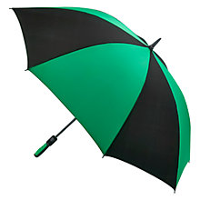 Buy Fulton Cyclone Supersize Golf Umbrella, Black/Green Online at johnlewis.com