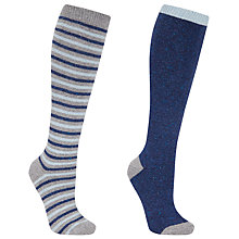 Buy John Lewis Silk and Wool Blend Knee Socks Online at johnlewis.com