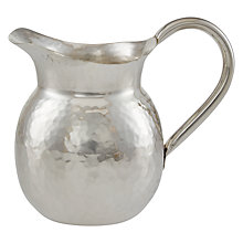 Buy Culinary Concepts Palace Hammered Jug Online at johnlewis.com