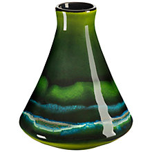Buy Poole Maya Conical Bud Vase, H12cm Online at johnlewis.com